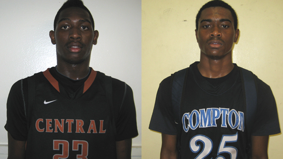 Fresno Central's Murshid Randle and Compton's Kyron Cartwright are two of the best underclass point guards in the state.