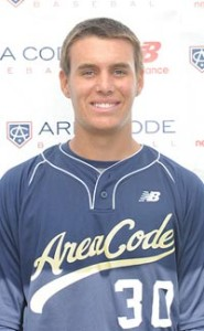 Brady Aiken played on the Milwaukee Brewers' 2013 Area Code team. Photo: Student Sports.