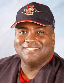 Gwynn had recently signed a one-year extension to continue as the head baseball coach at San Diego State. He often attended the Area Code Games in his hometown of Long Beach to scout future players.