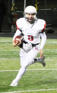 Brett Virgil quarterbacked Heritage of Menifee to a CIFSS title when he was a sophomore. Photo: menifee247.com.