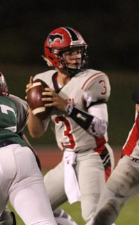 Jake Haener had another 300-yard game last week for Monte Vista of Danville. Photo: Willie Eashman.