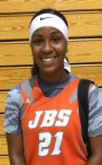 Shanaijah Davidson from Pioneer of Woodland was one of the top scorers in the Sac-Joaquin Section. Photo: premierball.com.