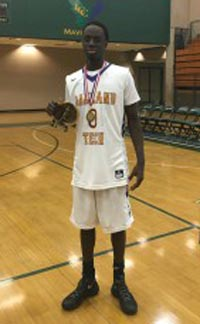 Souley Boum led Oakland Tech to the regular season title in the Oakland Athletic League. Photo: Twitter.com.