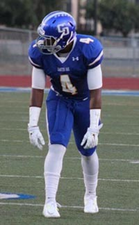 Charter Oak's Brian Casteel is one of the top players that longtime head coach Lou Farrar has ever had. Photo: Hudl.com.