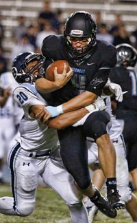Clovis North QB Brent Bailey had several monster outings this season against tough competition. Photo: Nick Baker/ClovisRoundup.
