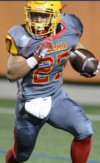 Emilio Martinez has been a standout for three seasons at Palma of Salinas and is getting D1 college offers. Photo: ncsasports.org.